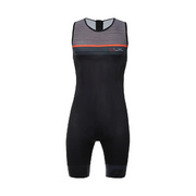 SANTINI SLEEK 775 SLEEVELESS TRISUIT GTR PAD - Grey