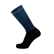 SANTINI REDUX AERO HIGH PROFILE SOCK - Blue