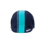 SANTINI GIADA COTTON CYCLING CAP - Blue