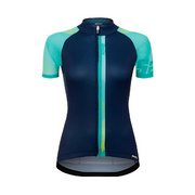 SANTINI WOMENS GIADA SHORT SLEEVE JERSEY - Blue