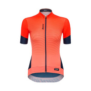 SANTINI WOMENS QUEEN 2.0 SHORT SLEEVE JERSEY - Orange