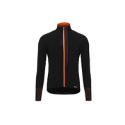 SANTINI FASHION VEGA LONG SLEEVE JERSEY - Black