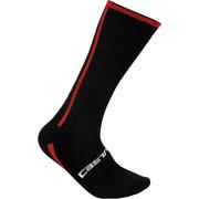 Venti Sock - Black/red