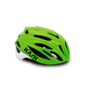 Kask Rapido Black (Nero) Medium - Lime Green