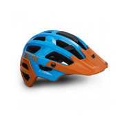 Kask Rex White/Red (Bianco/Rosso) Medium - Light Blue/orange