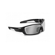 Koo Open Smoke Mirror Lenses Black Small - Black