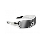 Koo Open Smoke Mirror Lenses Black Small - White