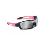 Koo Open Smoke Mirror Lenses Black Small - Dark Blue/pink