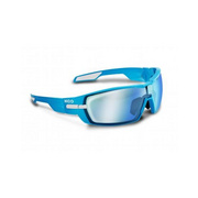 Koo Open Smoke Mirror Lenses Black Small - Blue