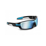 Koo Open Smoke Mirror Lenses Black Small - Black/blue