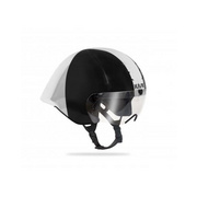 Kask Mistral White/Silver (Bianco/Argento) Medium - Black/white