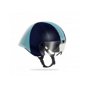 Kask Mistral White/Silver (Bianco/Argento) Medium - Dark Blue/blue