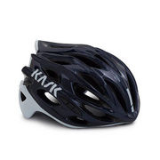 Kask Mojito X Black/Ash/Red Large - Navy Blue/white