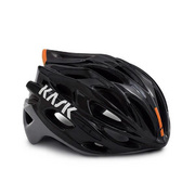Kask Mojito X Black/Ash/Red Large - Black/ash/orange