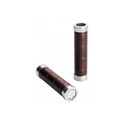 Brooks England Slender Leather Grips Standard - Brown
