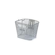 BASIL BOLD BASKET FRONT FIX MOUNTED - Silver