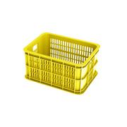 BASIL CRATE REAR BASKET - Yellow