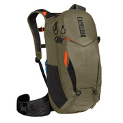 CAMELBAK KUDU PROTECTOR 20 DRY HYDRATION PACK 2018: BURNT OLIVE/LASER ORANGE 20L/700OZ (S/M) - Burnt Olive/laser Or