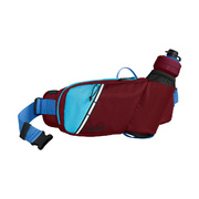 Camelbak Podium Flow Belt Hydration Pack - Burgundy/lake Blue