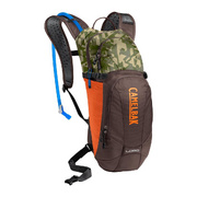 CAMELBAK LOBO HYDRATION PACK 2019: SHADOW GREY/CHARCOAL 3L/100OZ - Brown Seal/camelflag