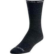 Unisex ELITE Tall Wool Sock - Black