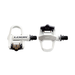 Look Keo 2 Max Pedal Cromo Axle W/ Keo Cleat White/Black 125G