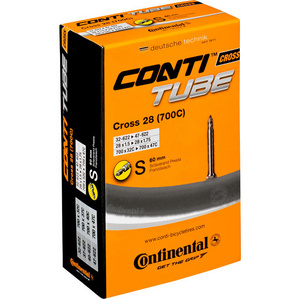Continental Cross 700 x 32 - 42C Presta 60 mm long valve inner tube