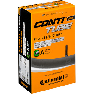 Continental Tour 28 slim tube 700 x 28 - 37C Presta valve Inner Tube