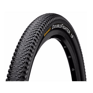 Double Fighter III 700 x 37C Black Tyre