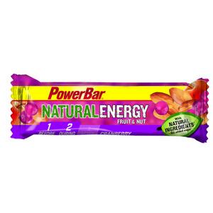 Powerbar NATURAL ENERGY Fruit & Nut  40g Bar x 24 - Cranberry
