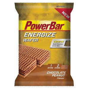 PowerBar Energize Wafer Peanut Chocolate 40g x 12 bars