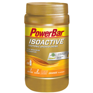 Powerbar Isoactive 600g x 1 Jar - Lemon