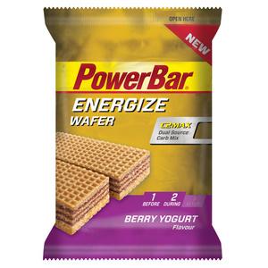 PowerBar Energize Wafer Berry Yoghurt 40g  x 12 bars