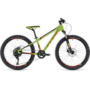 CUBE KID 240 RACE GREEN/ORANGE 2018 24""