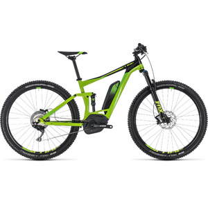 """CUBE STEREO HYBRID 120 EXC 500 GREEN 2018 17"""""""