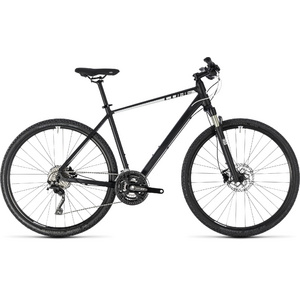 CUBE CROSS PRO BLACK/WHITE 2018 50 CM