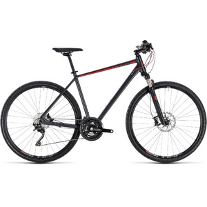 CUBE CROSS EXC IRIDIUM/RED 2018 50 CM