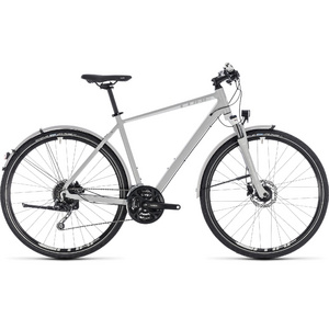 CUBE NATURE PRO ALLROAD GREY/WHITE 2018 50 CM