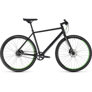 CUBE HYDE RACE BLACK/GREEN 2018 50 CM