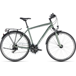 CUBE TOURING GREEN/SILVER 2018 50 CM