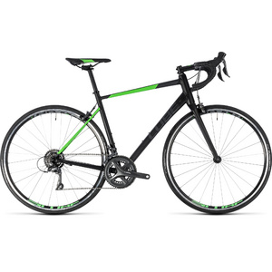 CUBE ATTAIN BLACK/FLASHGREEN 2018 50 CM
