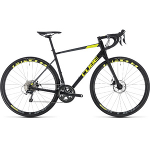 CUBE ATTAIN RACE DISC BLACK/FLASHYELLOW 2018 53 CM