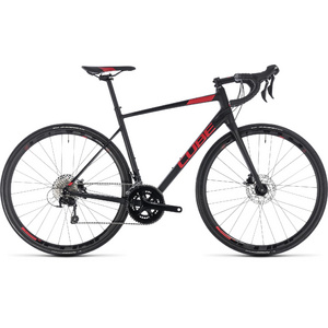 CUBE ATTAIN SL DISC BLACK/RED 2018 53 CM