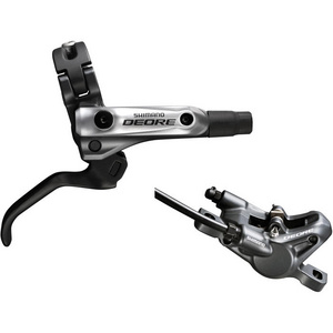 BR-M615 Deore bled I-spec-B compatible brake lever/Post mount calliper, rear