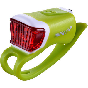 Orca USB rear light, green