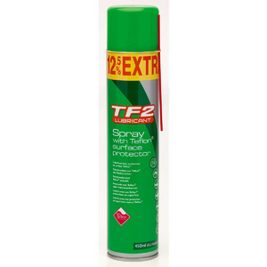 WELDTITE Tf2 Teflon Spray Bike Lube 400Ml