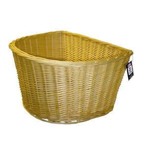 """ADIE Wicker Basket 18"""" 'D' Shape"""