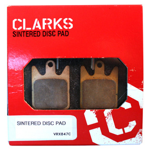 Clarks Sintered Disc Brake Pads w/Carbon for Hope Moto V2