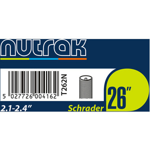 26 x 2.1 - 2.4 inch Schrader inner tube