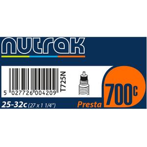 700 x 25 - 32C (27 x 1-1/4 inch) Presta inner tube